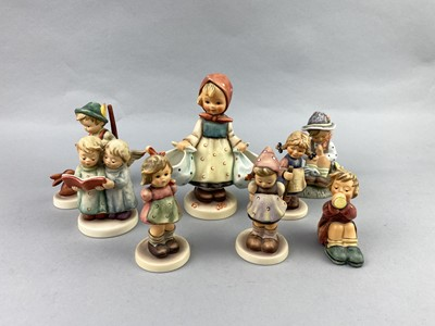 Lot 18-A LOT OF HUMMEL AND OTHER FIGURES