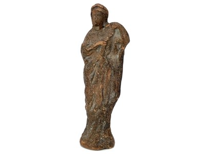 Lot 1325-AN ANCIENT GREEK FIGURE OF A LADY