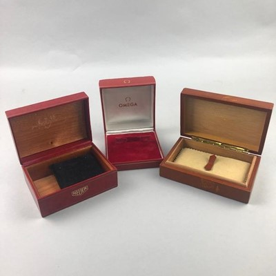 Lot 19-A LOT OF THREE WATCH BOXES