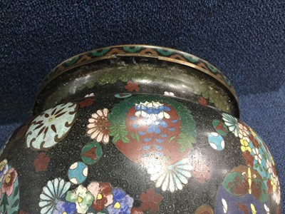Lot 761 - A CHINESE CLOISONNE PLANTER