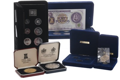 Lot 202 - A GROUP OF POBJOY LIMITED EDITION COINS