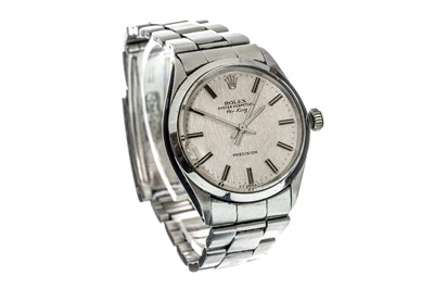 Lot 735 - GENTLEMAN'S ROLEX AIR KING STAINLESS STEEL AUTOMATIC WRIST WATCH
