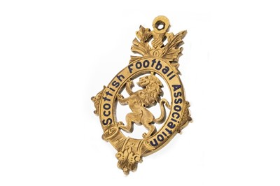 Lot 1725 - JIMMY MCMENEMY - HIS SCOTTISH CUP WINNERS GOLD MEDAL 1921