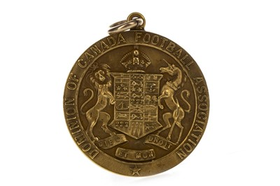 Lot 1726 - JIMMY MCMENEMY - HIS SCOTS CANADIAN TOUR MEDAL 1921