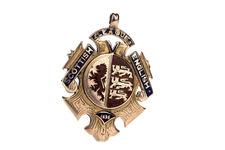 Lot 1733 - A SCOTTISH ENGLISH LEAGUE MEDAL AWARDED TO DAN DOYLE 1896