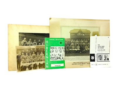 Lot 1728 - A LOT OF THREE EARLY 20TH CENTURY CELTIC F.C. TEAM PHOTOGRAPHS