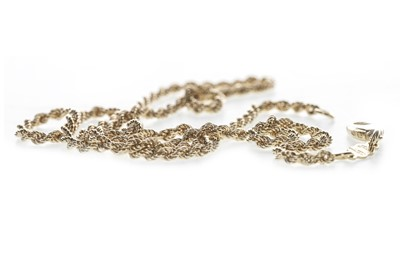Lot 805-A GOLD ROPETWIST CHAIN
