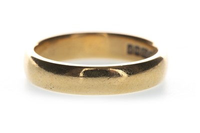 Lot 835-A GOLD WEDDING BAND