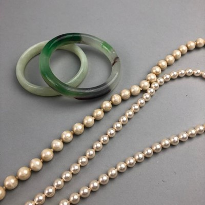 Lot 24-A COLLECTION OF COSTUME JEWELLERY