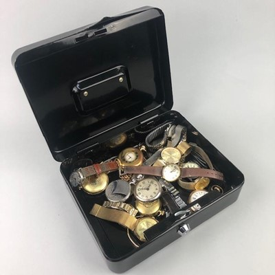 Lot 20-A COLLECTION OF POCKET AND WRIST WATCHES