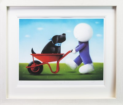 Lot 185 - DAISY TRAIL, A GICLEE PRINT BY DOUG HYDE