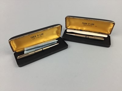 Lot 13-A YARD-O-LED GOLD PLATED PENCIL AND PEN