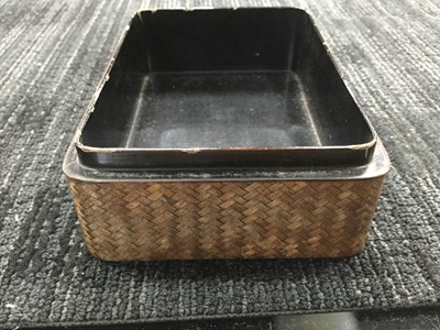 Lot 765 - A 20TH CENTURY JAPANESE CASKET