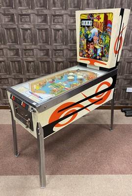 Lot 1308-A LATE 1960'S PINBALL MACHINE BY GOTTLIEB'S