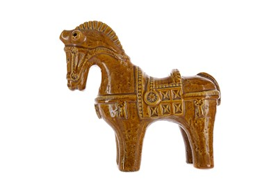 Lot 1035 - A CERAMIC HORSE BY ALDO LONDI FOR BITOSSI