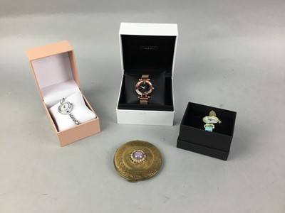 Lot 10-A COLLECTION OF LADY'S FASHION WATCHES