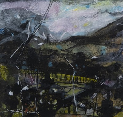 Lot 79 - UNTITLED, A MIXED MEDIA BY DOUGLAS DAVIES