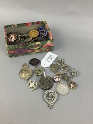 Lot 20-A COLLECTION OF BOYS BRIGADE BADGES AND OTHERS