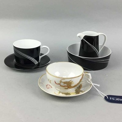 Lot 22-A LOT OF JAPANESE AND OTHER TEA SERVICES