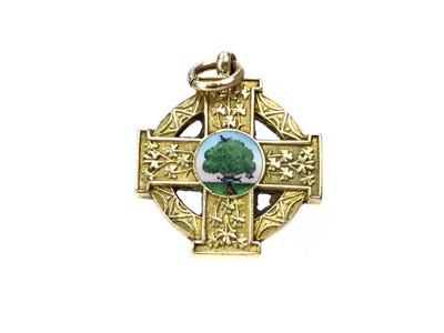 Lot 1778 - ALEC THOMSON OF CELTIC F.C. - HIS GLASGOW CUP MEDAL