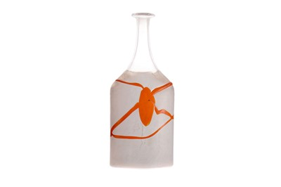 Lot 1046 - AN ATELJE GLASS VASE