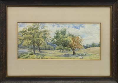 Lot 16 - A PAIR OF WATERCOLOURS BY W A ABELL