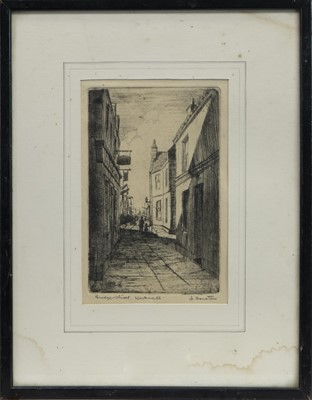 Lot 21 - A PAIR OF ARCHITECTURAL ETCHINGS