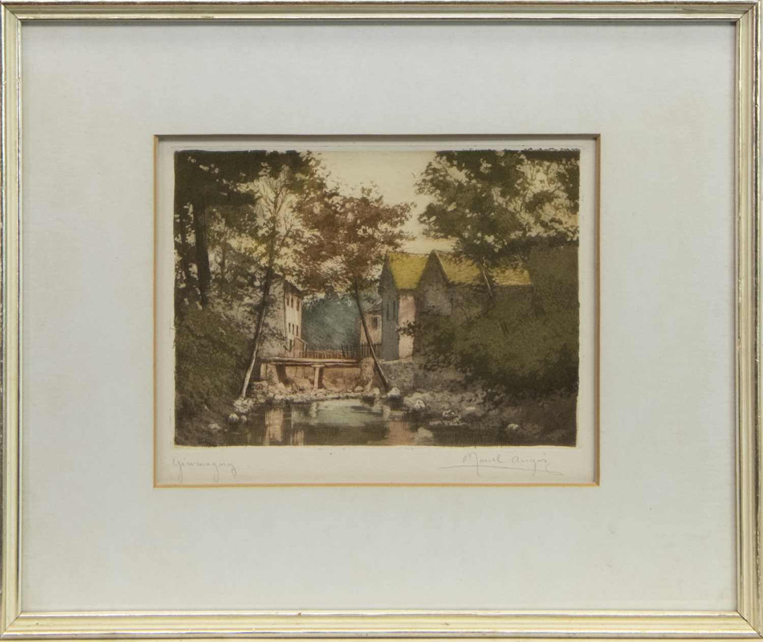 Lot 23 - GIROMAGNY, A PRINT BY MARCEL AUGIS
