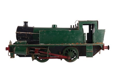 Lot 1603 - A 20TH CENTURY MODEL STEAM ENGINE