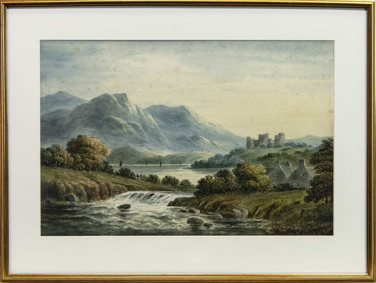 Lot 25 - A PAIR OF SCOTTISH WATERCOLOURS