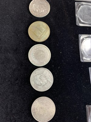 Lot 13 - FIVE CHINESE COINS