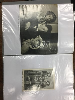 Lot 1612 - A COLLECTION OF AUTOGRAPHS AND OTHERS