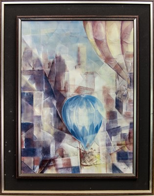 Lot 42 - AN UNTITLED OIL ATTRIBUTED TO DANNY DASTO