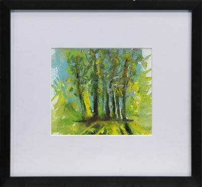 Lot 37 - IN THE GLADE, A MIXED MEDIA BY FIONA JACK