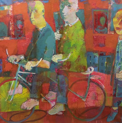 Lot 574 - TANDEM, AN ACRYLIC BY ANDREI BLUDOV