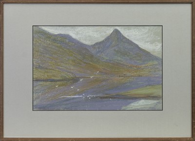 Lot 65 - LOCH LEVEN, A PASTEL BY MARY YATES