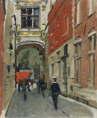 Lot 16 - ETON, AN OIL BY KEN HOWARD