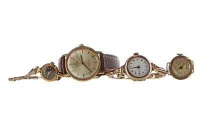 Lot 950 - TWO GENTLEMAN'S AND THREE LADY'S WATCHES