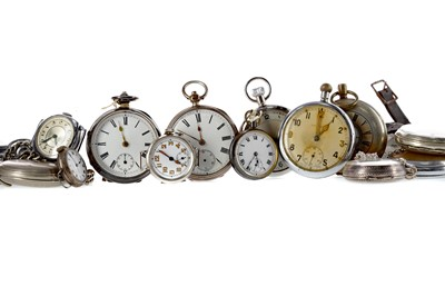 Lot 951 - A COLLECTION OF SILVER AND OTHER POCKET WATCHES