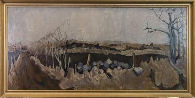 Lot 45 - LANDSCAPE, AN OIL BY HELEN FIRTH