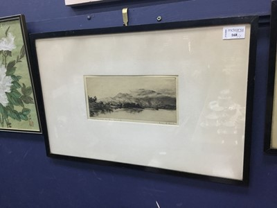 Lot 204 - A PAIR OF ETCHINGS BY IVAN M. BARR