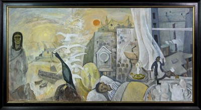 Lot 5 - EULOGY, A LARGE OIL BY IAN FLEMING