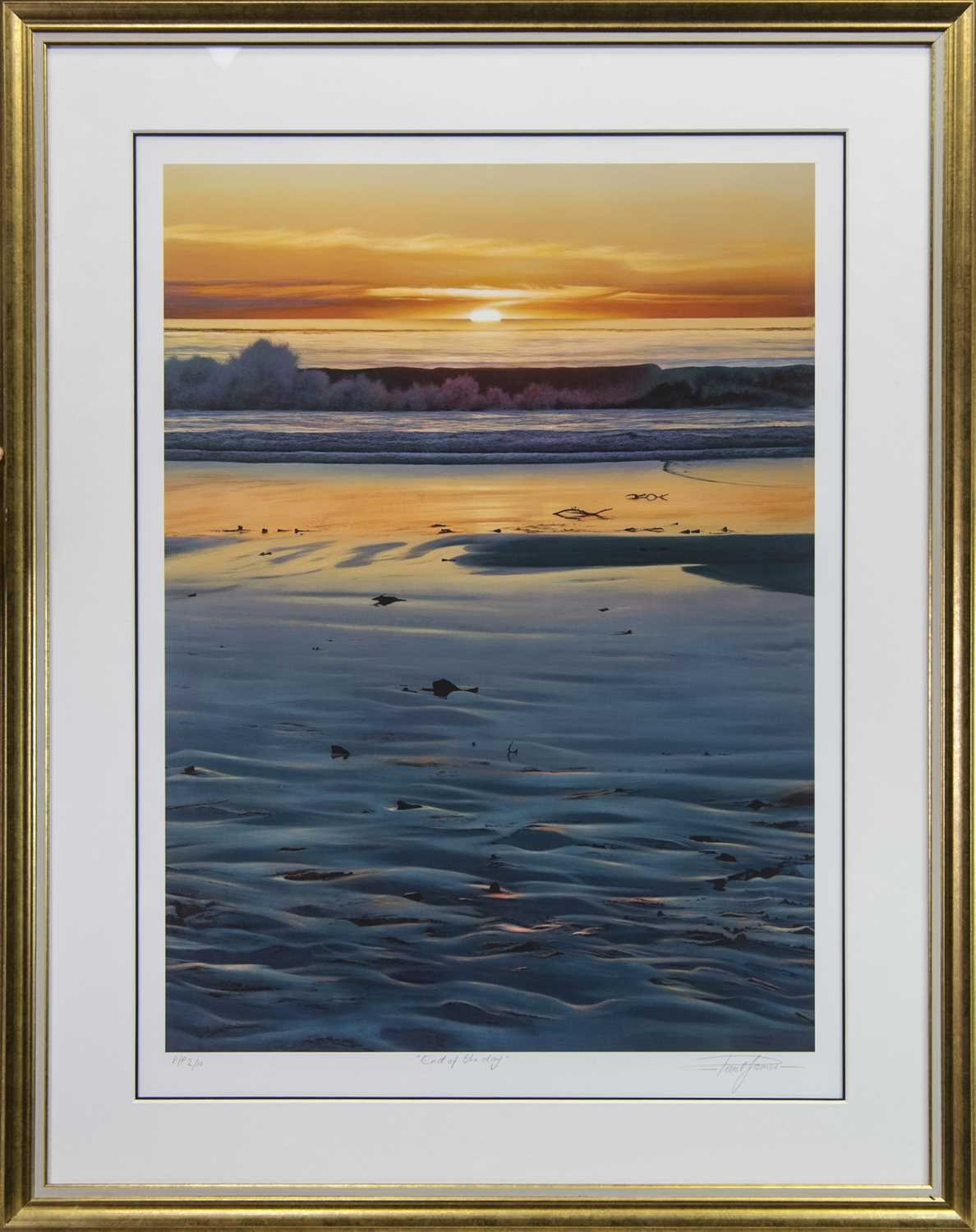 Lot 109 - END OF THE DAY, A PRINT BY PAUL JAMES