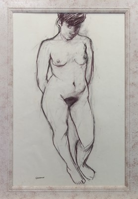 Lot 120 - A PASTEL NUDE BY ALEXANDRA GARDNER