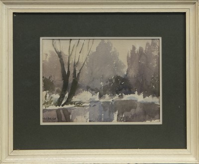 Lot 55 - THE FOUR SEASONS, A WATERCOLOUR POLYPTYCH BY PETER HIPKISS