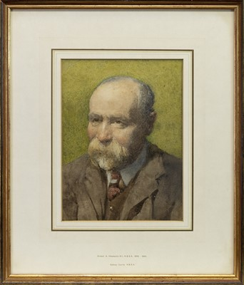 Lot 13 - SIDNEY CURRIE RBSA, A WATERCOLOUR BY ERNEST ALBERT CHADWICK