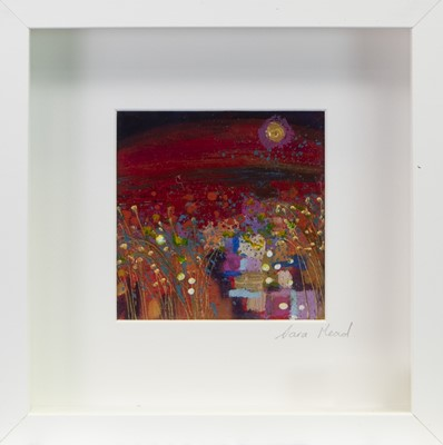 Lot 63 - FIELD OF DREAMS,  AN OIL BY SARA MEAD