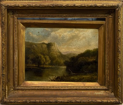 Lot 507 - HIGHLAND LOCH SCENE, A SCOTTISH OIL