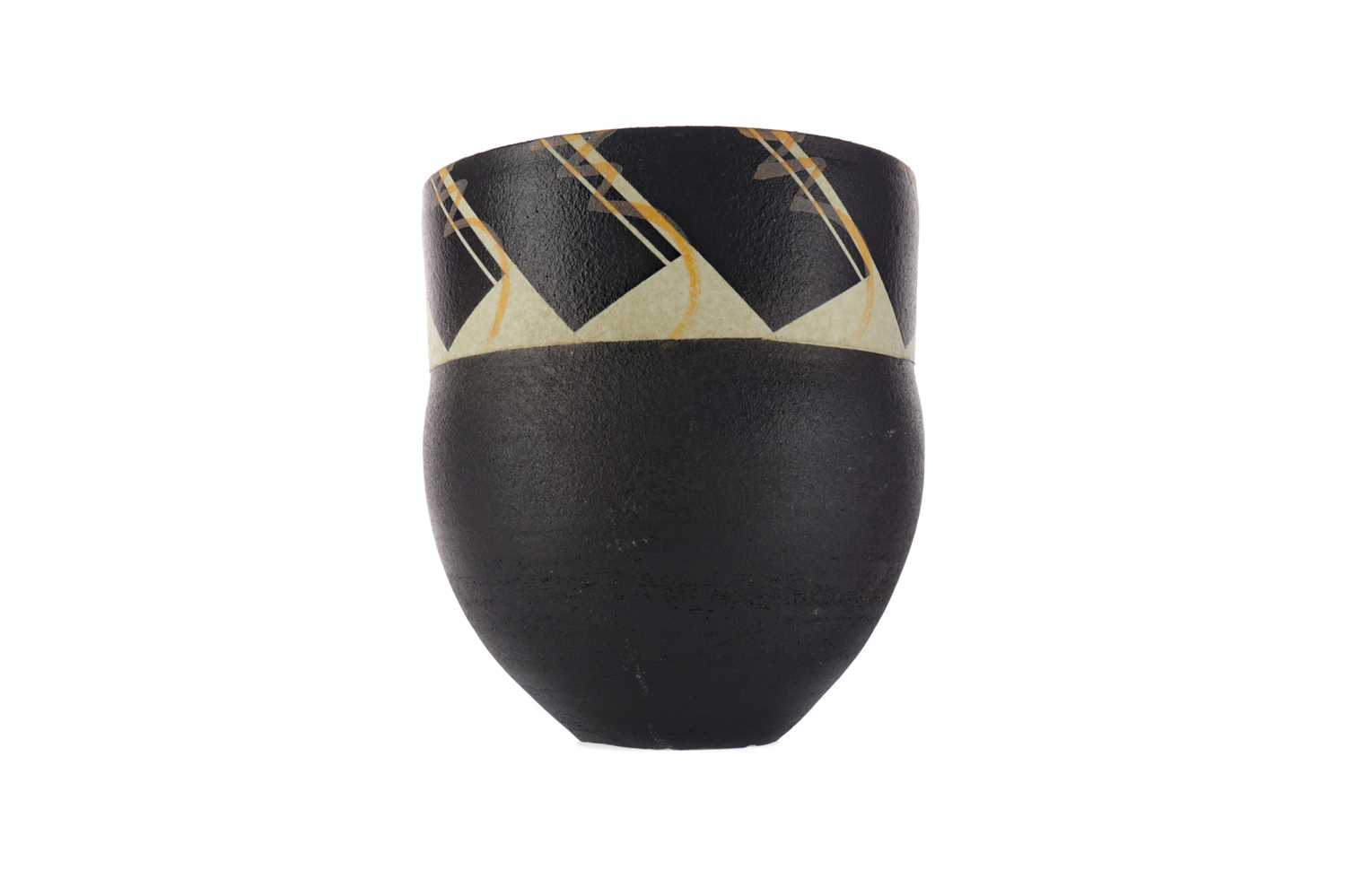 Lot 1063 - A STUDIO POTTERY VASE BY MORAY MILLER