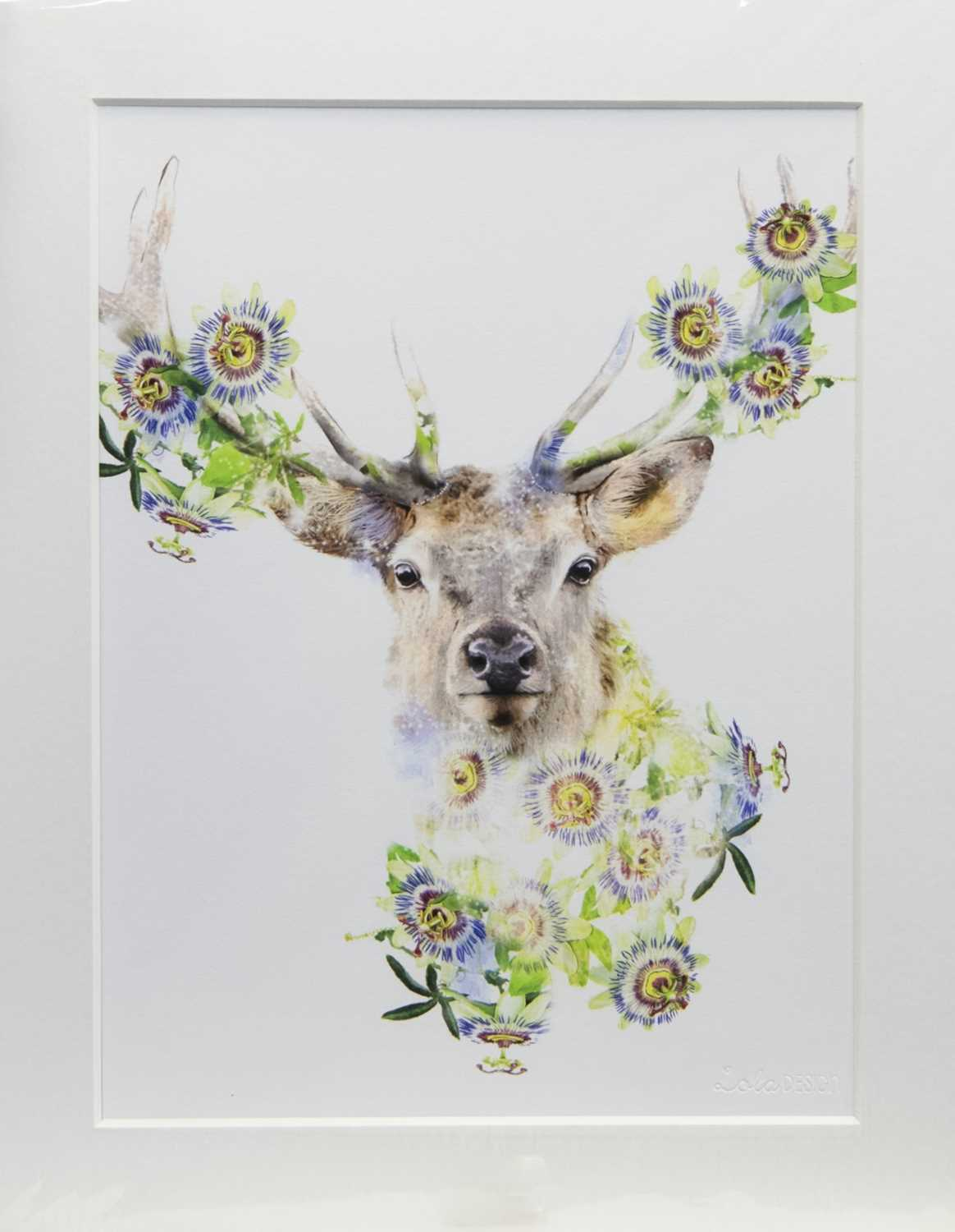 Lot 104 - STAG, A PRINT BY LOLA DESIGN